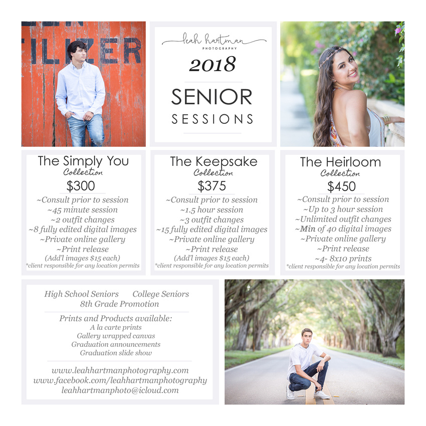 2018 Graduation Photography – Fashion dresses